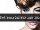 Do the chemicals used in cosmetics cause diseases