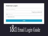 Tip to Toe Guide on 1 and 1 Email Login Account