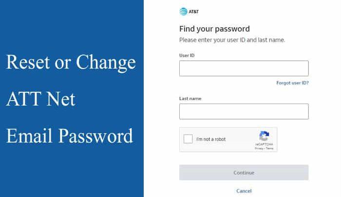 DIY Tips to Change or Reset ATT Net Email Password